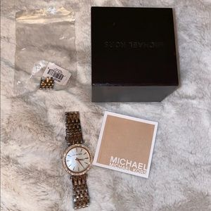 MK two toned watch